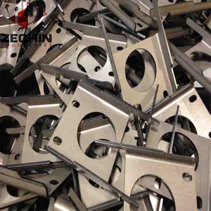 Custom precision metal stamped bent parts