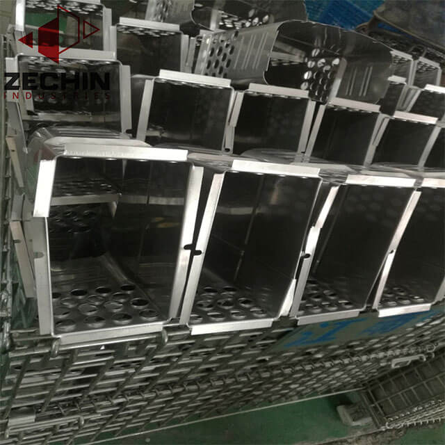 bending mild steel chassis sheet metal folded parts